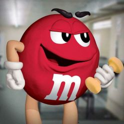 Red M&M workout